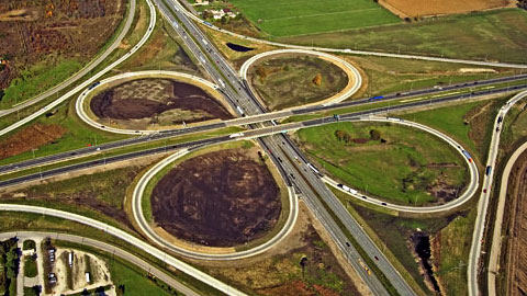 I-80, I-55 Interchange